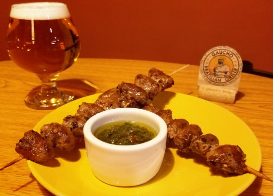 Blacksburg, VA: XO XO, our new starter featuring chicken hearts!!