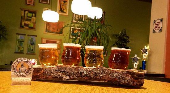 Blacksburg, فيرجينيا: Beer Flight now at Gaucho