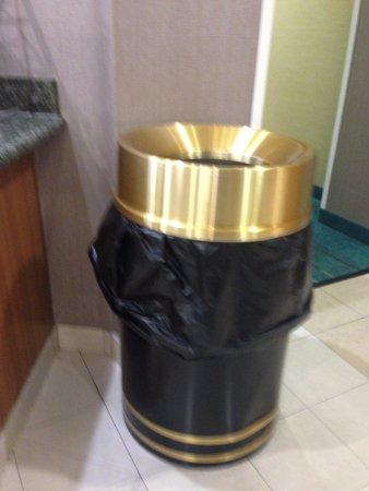 Ridgecrest, CA: Fancy waste bin.