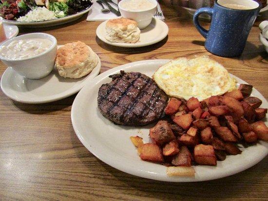 Lone Spur Cafe: Breakfast