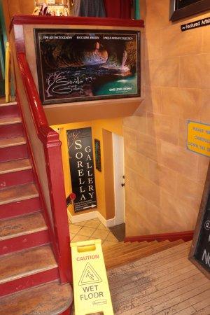 Springdale, UT: Sorella Gallery - downstairs entrance