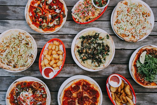 Bimbo Deluxe: $4 pizza and snacks are our specialties