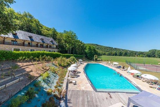 Condat-sur-Vezere, Francia: piscine exterieure