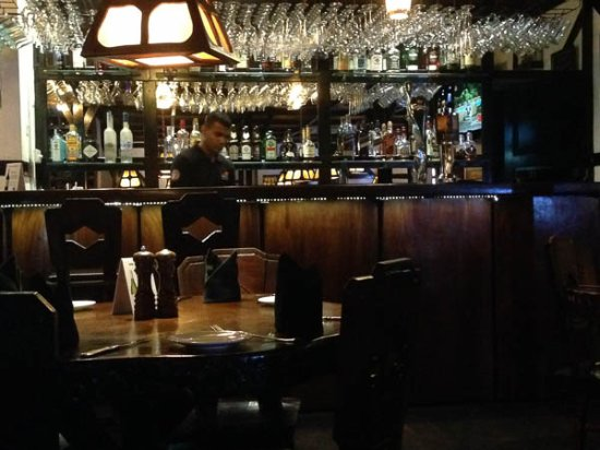The Bavarian German Restaurant and Pub: The bar
