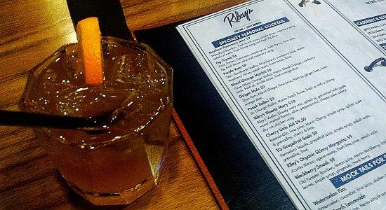 Clovis, CA: Ginger mule: rum, ginger, lime, oj