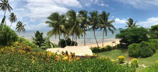 Coconut Grove Beachfront Cottages: View from the Mango Bure