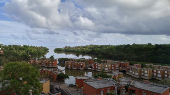 Terre Rouge: Breathtaking view from the room