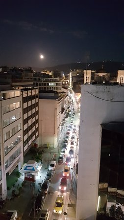 Plaka Hotel: View from Roof Terrace .2