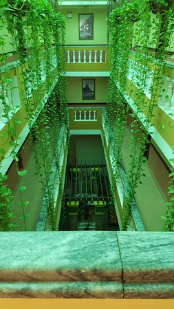 Hotel Porto Santo: interior view from 2nd floor