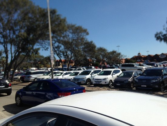 Sorrento, Australia: One of the busy car parks