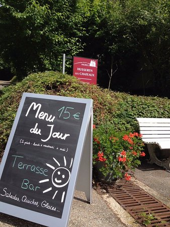 Husseren-les-Châteaux, France : Menu du Jour de lundi à vendredi