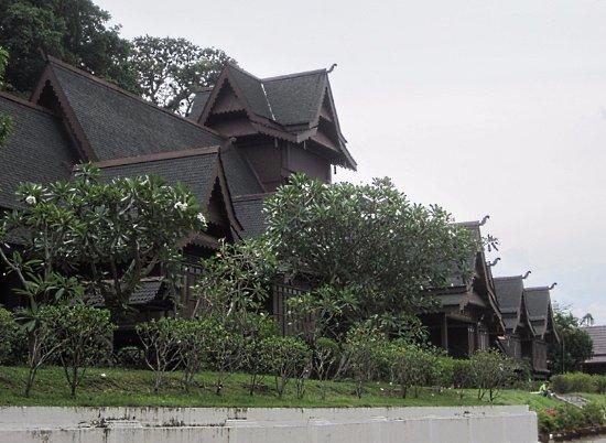Malacca Sultanate Palace : 外観です。