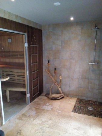 Hôtel Le M Honfleur: Sauna