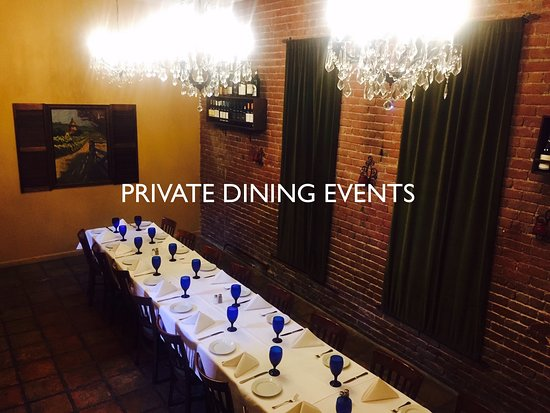 Photo Private Event Room Up To 24 Guests Or 60 On The Main Floor