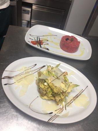 Savignone, Italie : Intero e hamburger