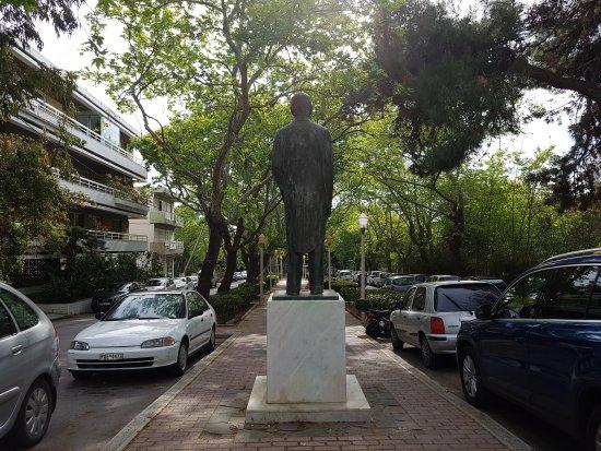 Eleftheriou Venizelou Statue