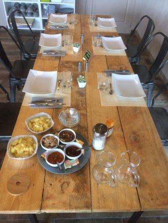 Juvignac, France: Notre brunch en trois services tous les samedi jusqu'à 15h00