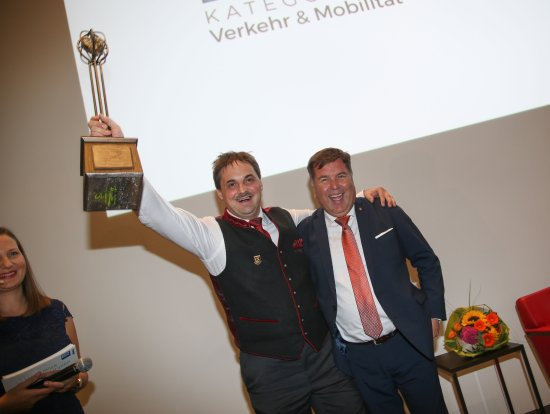 Tamsweg, Österrike: Regionalitätspreisträger des Landes Salzburg 2013 und 2015 in der Kategorie Verkehr & Mobilität