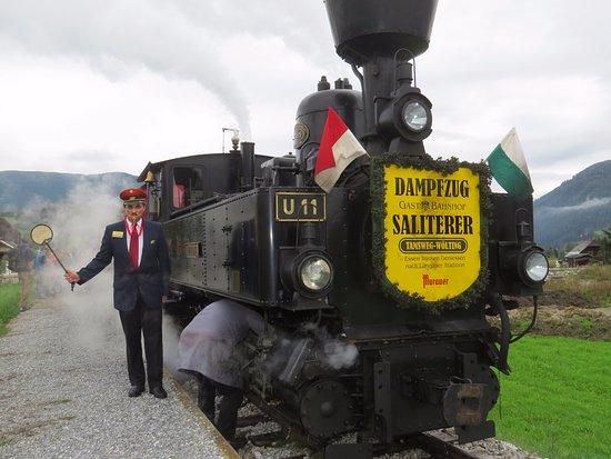 Tamsweg, Österrike: Bahnhofvorstand Alexander Müller