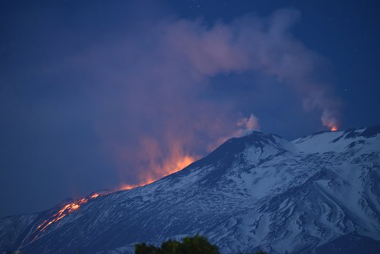 Legendary Sicily : Mt Etna eruption at the South-East Crater and inside the Voragine (Main Crater) April 2017