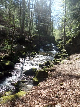 Besse-et-Saint-Anastaise, Francia: Cascades de Chiloza
