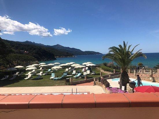 Hotel Biodola : Vista dal bar