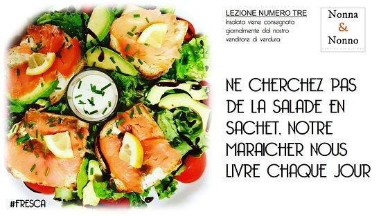 Noisy-le-Grand, Frankrig: La salade de chez N&N est gourmande...