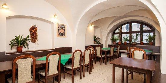 Měšťanský Dům restaurace a pension: Salonek cca 20 míst