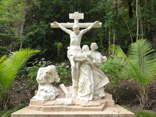 Canungra, Australia: Twelfth Station Jesus Dies On The Cross