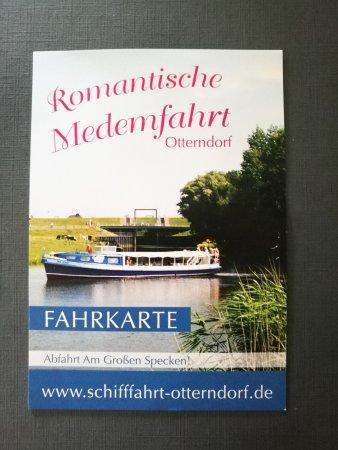 Otterndorf, Alemania: Fahrkarte