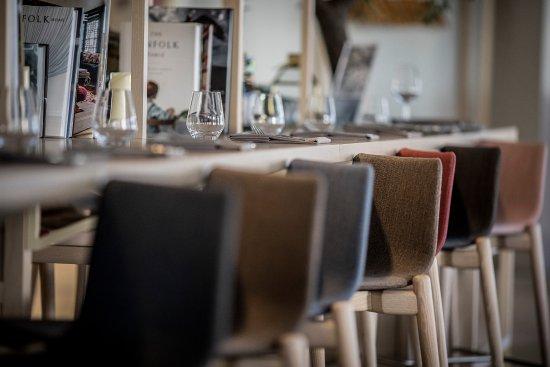 Kastrup, Danmark: Close up Brasserie X