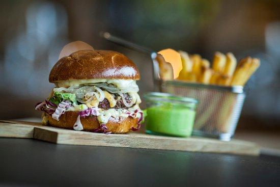 Kastrup, Danmark: Burger
