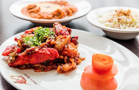 Corwen, UK: Abul's Spice award winning dishes