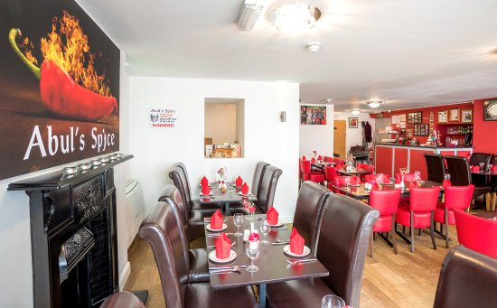 Abul's Spice, Corwen can seat up to 48 customers