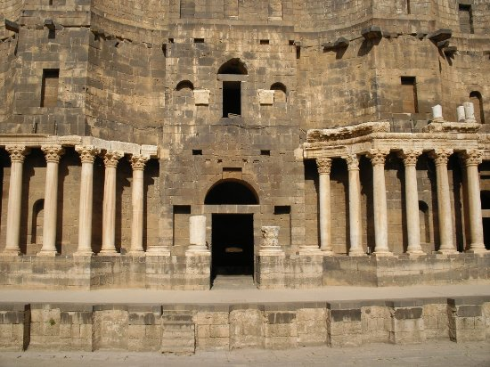 Bosra, Syria: The stage
