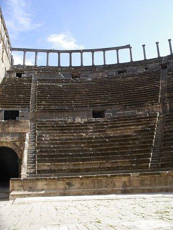 Босра, Сирия: Seating