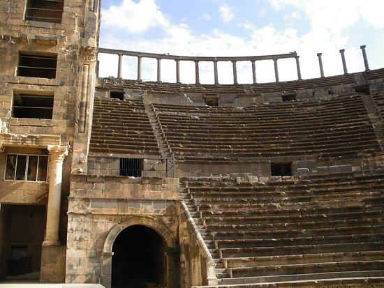 Bosra, Syria: Huge capacity