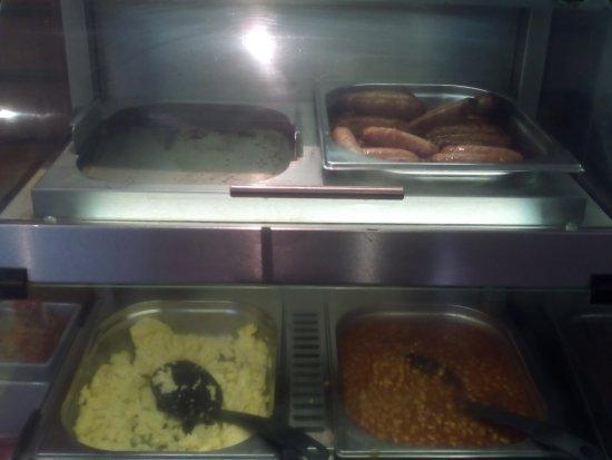 Minster, UK: HIEx Ramsgate - A Bacon-Free Breakfast!
