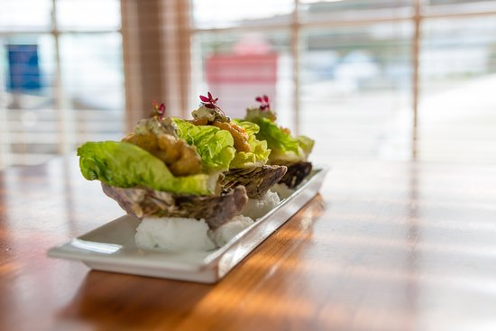 Kota Restaurant: Tempura oysters
