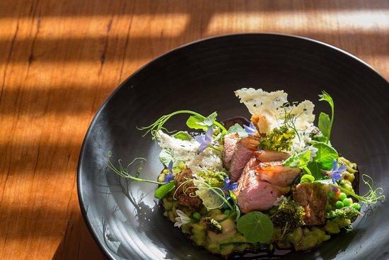 Porthleven, UK: Award winning food from Great British Menu chef, Jude Kereama