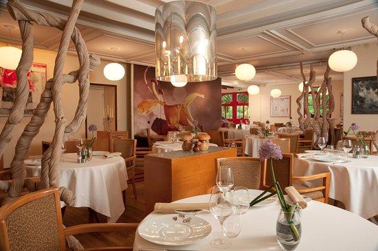 Le Manoir du Lys: Salle de restaurant