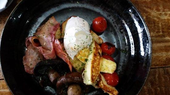 Bicheno, Australië: Great Breakfast!