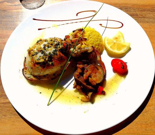 Restaurant l 39 empannage dans saint denis d 39 oleron avec for Cuisine entiere