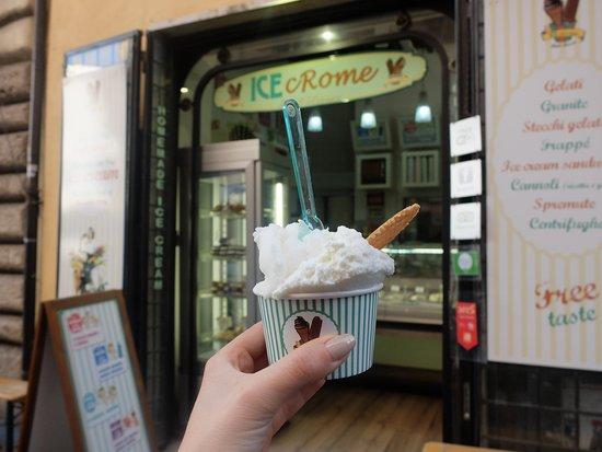 Ice cRome: citron noix de coco