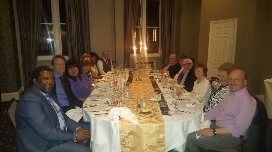 Nutfield, UK: 90th birthday dinner in the Leigh Room