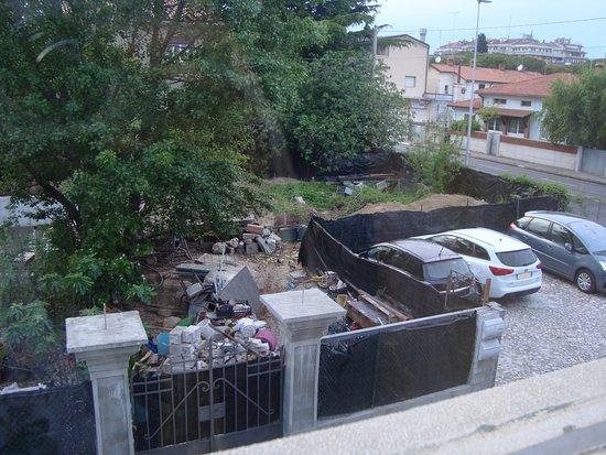Monfalcone, Italien: vista su discarica