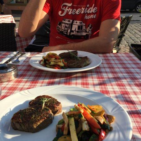 Bad Wimpfen, Alemanha: Wie immer - super Steak und das Gemüse war dieses Mal besonders gut!
