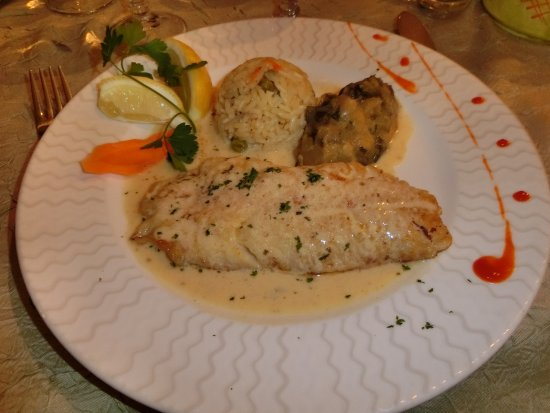 Le Cannet-des-Maures, Prancis: Sauteed whitefish