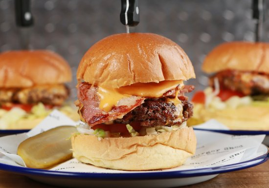 Mold, UK: Our Burgers!