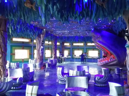 blue world theme park aquaria underwater restaurant - Underwater World Restaurant